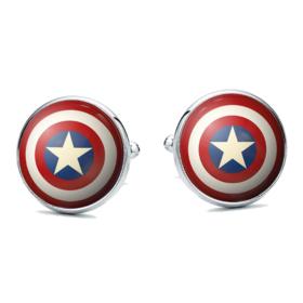 Manžetové knoflíčky kapitán amerika avenger