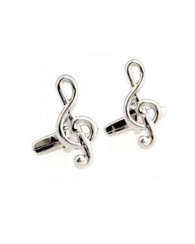 Manžetové knoflíčky houslový klíč Strauss