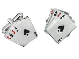 Manžetové knoflíčky karty
