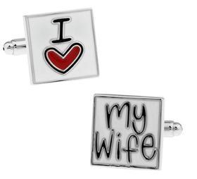 Manžetové knoflíčky miluji svou ženu