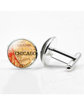 Manžetové knoflíčky Chicago