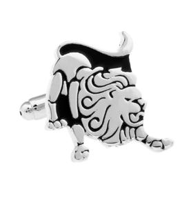Manžetové knoflíčky zvěrokruh lev