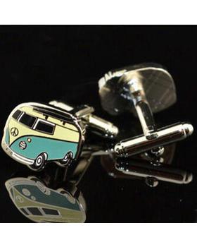 Manžetové knoflíčky retro bus