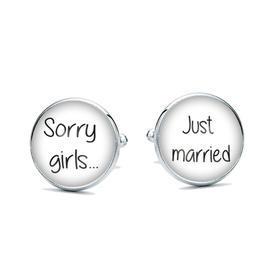 Manžetové knoflíčky Sorry girls