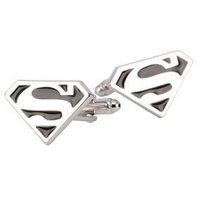 Manžetové knoflíčky Superman černé