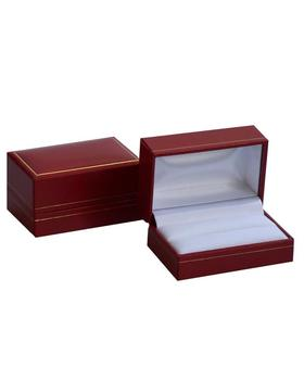 Box na manžetové knoflíčky červená