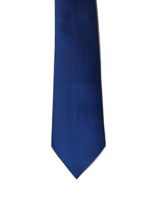 Kravata bez vzoru modrá