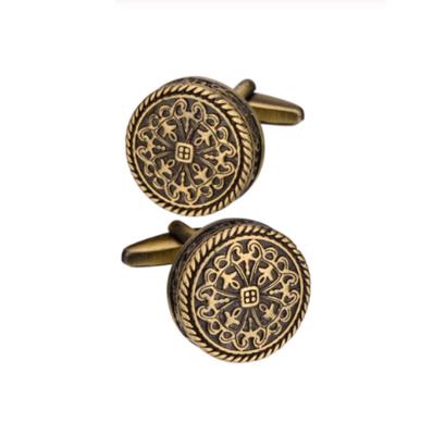 Manžetové knoflíčky bronzový vzor