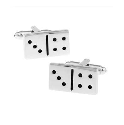 Manžetové knoflíčky domino