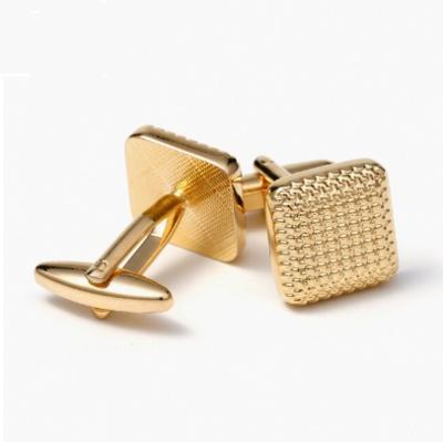 Manžetové knoflíčky zlatý čtverec