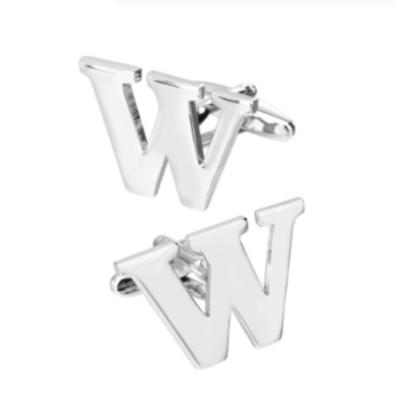 Manžetové knoflíčky písmeno W