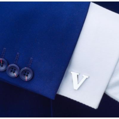 Manžetové knoflíčky písmeno V
