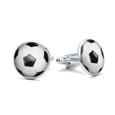 Manžetové knoflíčky Fotbalový míč - 1