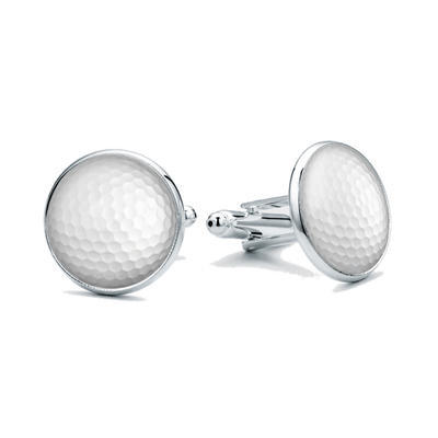 Manžetové knoflíčky Golfový míček - 1