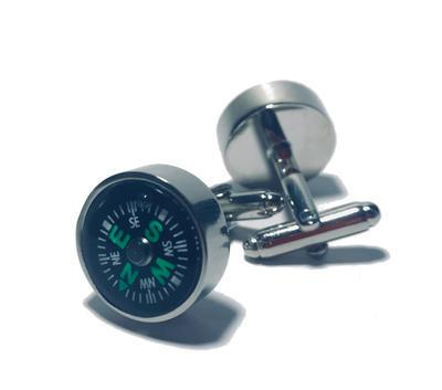 Manžetové knoflíčky kompas