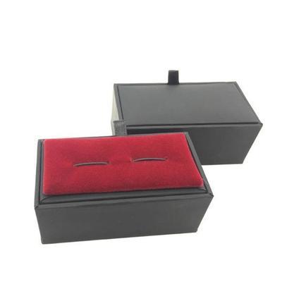 Krabička na manžetové knoflíčky - černá
