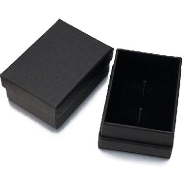 Krabička manžetové knoflíčky černá