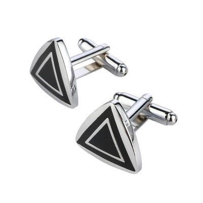 Manžetové knoflíčky fashion trojúhelník