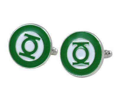 Manžetové knoflíčky Green Lantern - 1