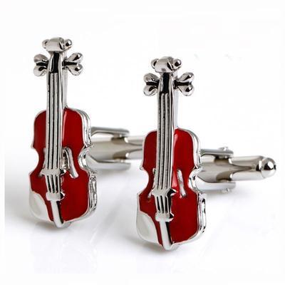 Manžetové knoflíčky housle - 1