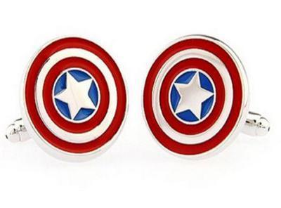 Manžetové knoflíčky Kapitán Amerika - 1