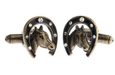 Manžetové knoflíčky kůň - 1