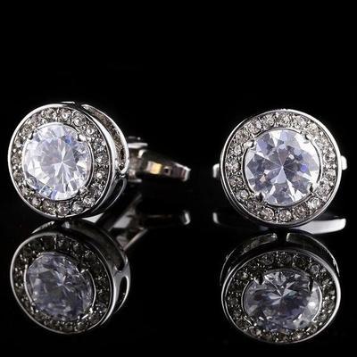 Manžetové knoflíčky diamant