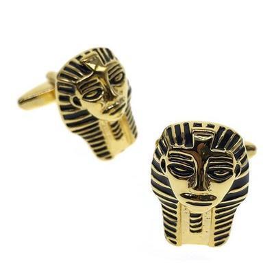 Manžetové knoflíčky egyptská maska