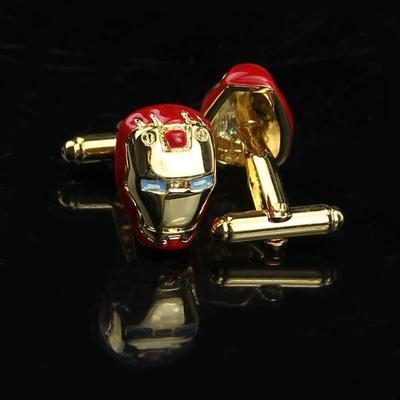 Manžetové knoflíčky Iron Man gold