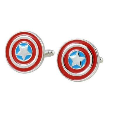 Manžetové knoflíčky kapitán Amerika