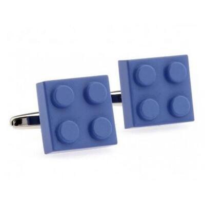 Manžetové knoflíčky modré Lego