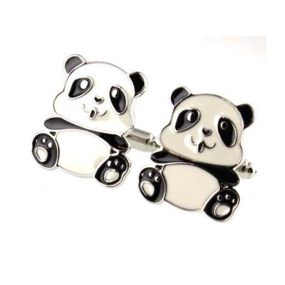Manžetové knoflíčky panda