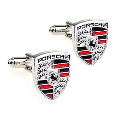 Manžetové knoflíčky Porsche silver