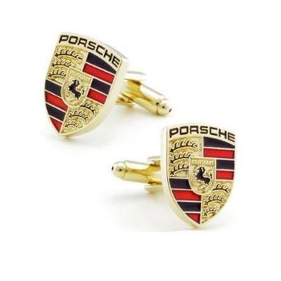 Manžetové knoflíčky Porsche gold