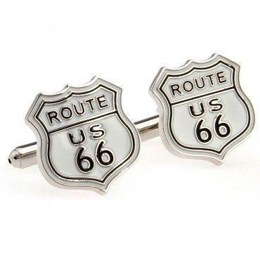 Manžetové knoflíčky route 66