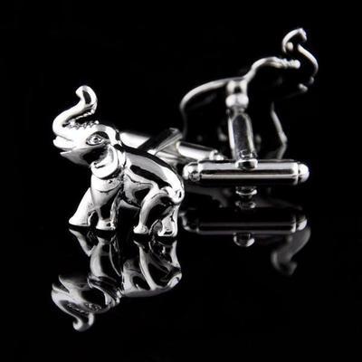 Manžetové knoflíčky slon - slůně