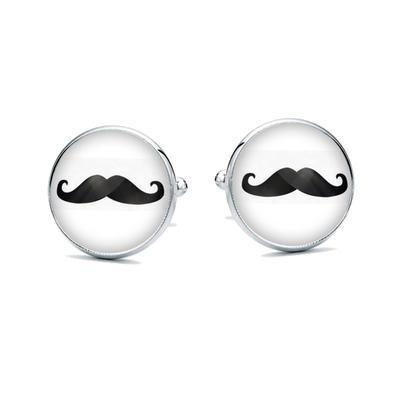 Manžetové knoflíčky Movember - 1
