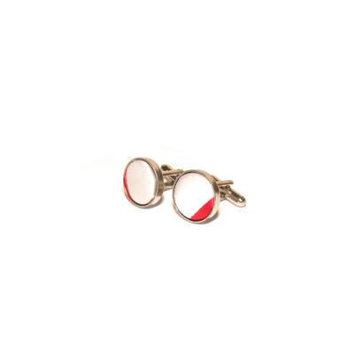Luxusní set široké červené pruhy - 2