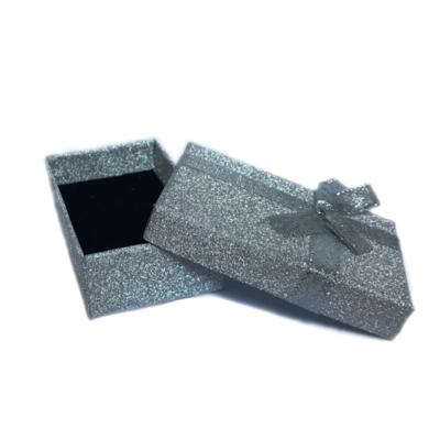 Dárková krabička dárková papírová šedá - 2