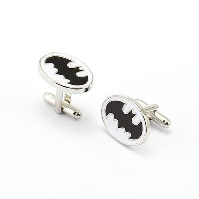 Manžetové knoflíčky Batman bílé - 2