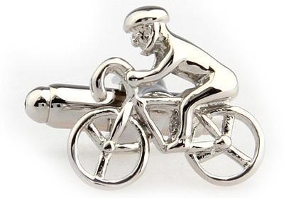 Manžetové knoflíčky cyklista - 2