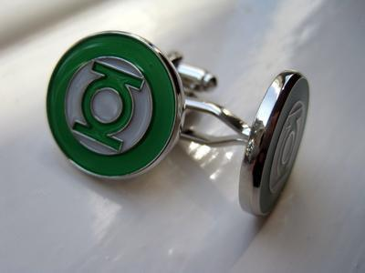 Manžetové knoflíčky Green Lantern - 2