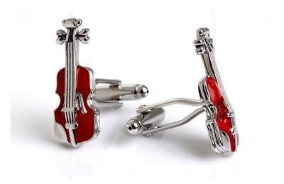 Manžetové knoflíčky housle - 2