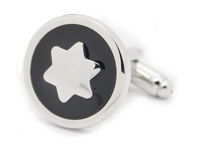Manžetové knoflíčky hvězda - 2