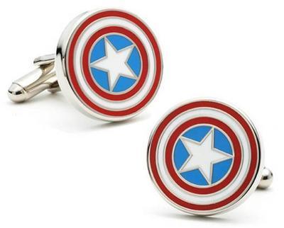 Manžetové knoflíčky Kapitán Amerika - 2