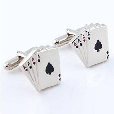 Manžetové knoflíčky karty - 2