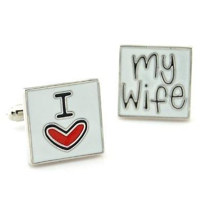 Manžetové knoflíčky miluji svou ženu - 2