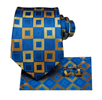 Manžetové knoflíčky s kravatou Nymfy - 2