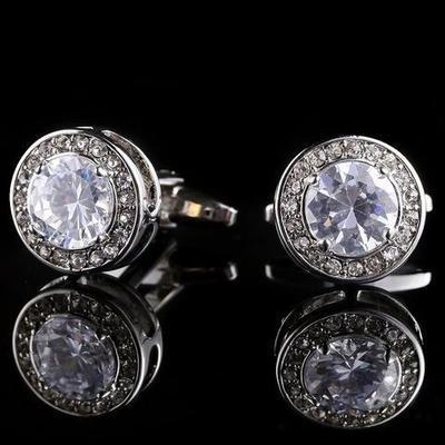 Manžetové knoflíčky diamant - 2