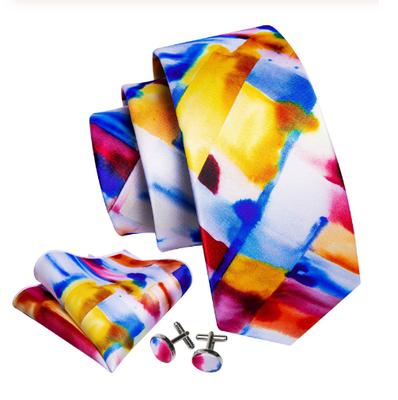 Manžetové knoflíčky s kravatou Muzy - 2